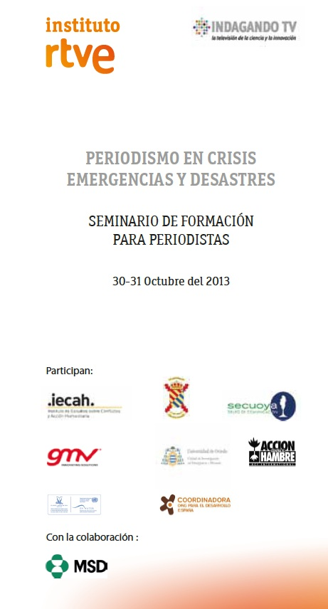 Imagen  PERIODISMO EN CRISIS, EMERGENCIAS Y DESASTRES captura tripcioj
